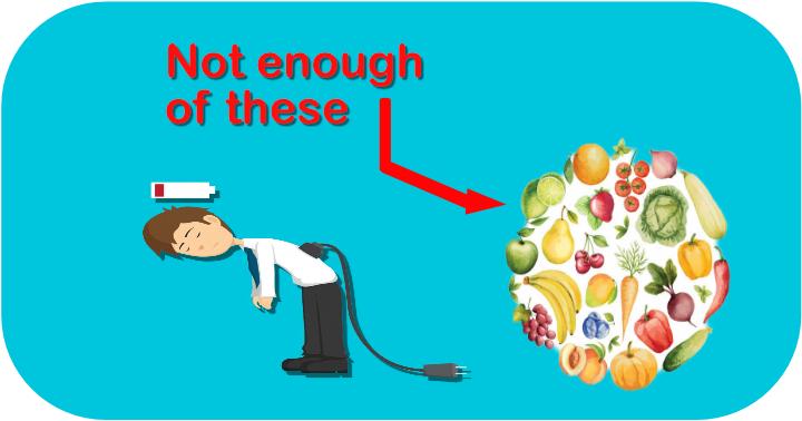 Not enough vitamins